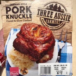 German Style Pork Knuckle from Woolworth, by Three Aussie Farmers